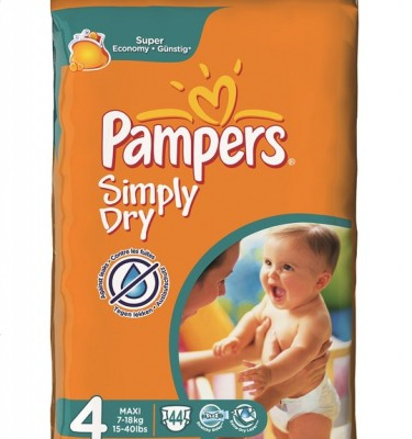 Pampers simply maxi mt 4