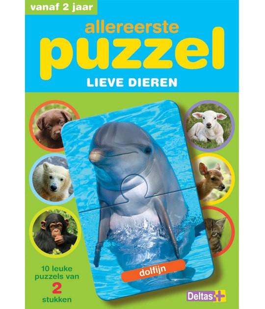 2-delige puzzel dieren