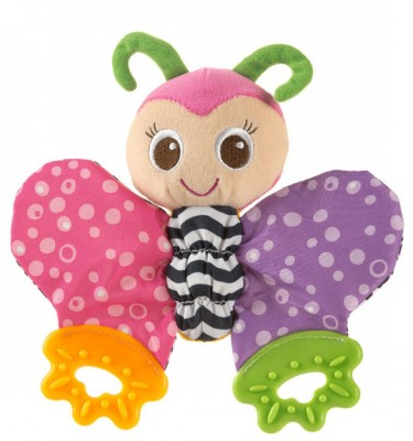 Playgro blossom Butterfly teething blankie