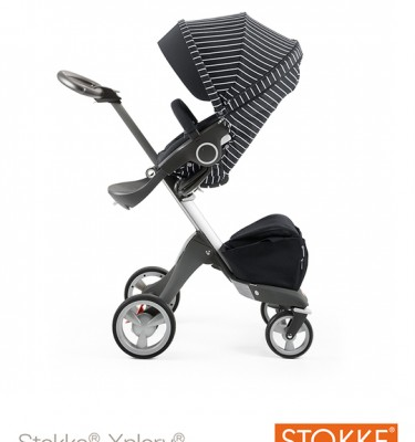 Stokke Xplory Black/White Stripes