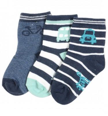 Prenatal jongens sokjes 3-pack