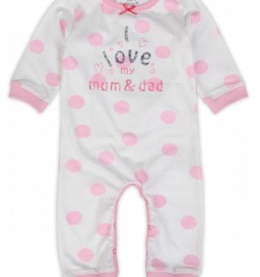 Prenatal meisjes 1 delig baby pyjama