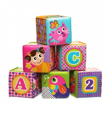 Playgro Bath blocks pink