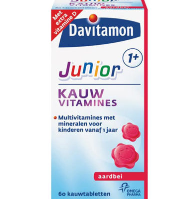 Davitamon junior 1+ kauwvitamines