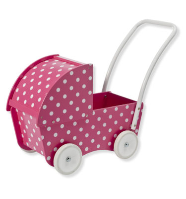 Prenatal poppenwagen stippen