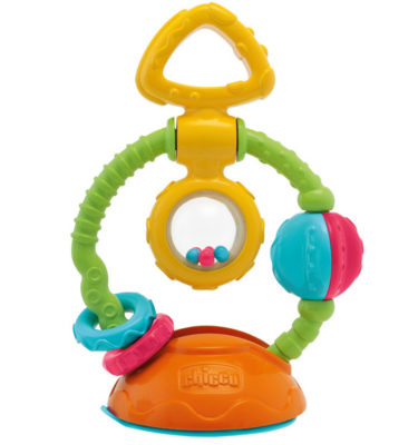 Chicco Touch & spin kinderstoelspeeltje