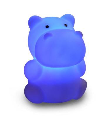ISI mini nachtlampje Nijlpaard