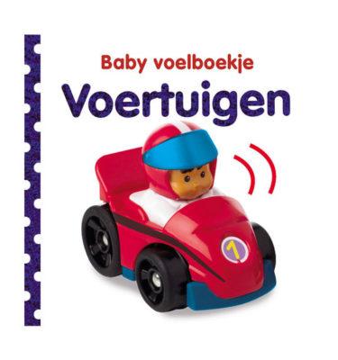 Baby voelboekje voertuigen