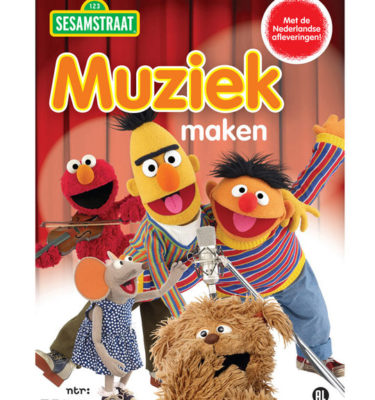 Dvd Sesamstraat Muziek