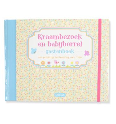 Kraambezoek/ babyshower boek