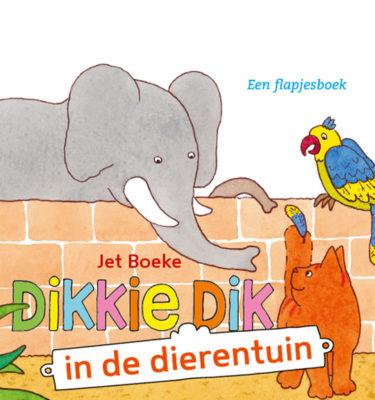 Boek Dikkie dik in de dierentuin