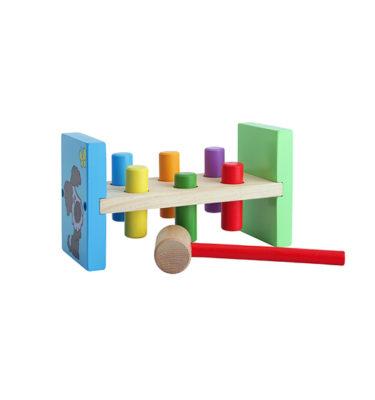 Woezel & Pip houten hamerbankje
