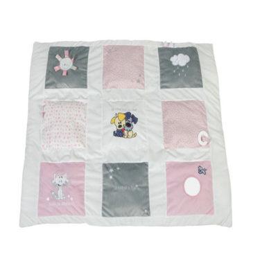Woezel & Pip boxkleed roze