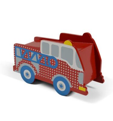 Prenatal spaarpot hout auto