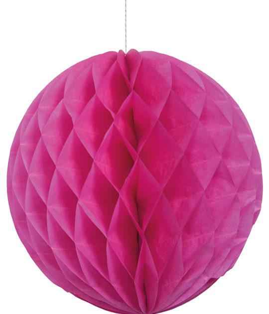 Honeycomb roze 35 cm