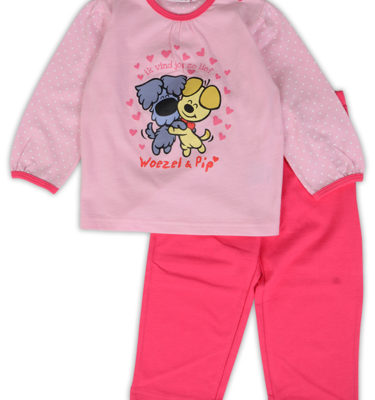 Woezel & Pip meisjes peuter pyjama