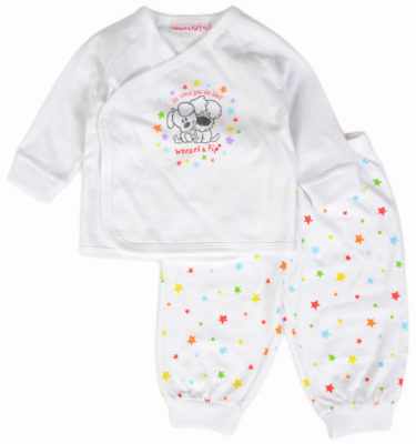 Woezel & Pip unisex baby pyjama