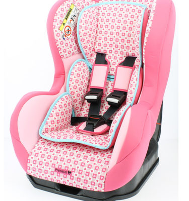 Prenatal autostoel groep 1 hartjes