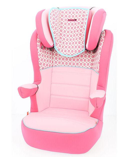 Prenatal luxe autostoel groep 2/3 hartjes