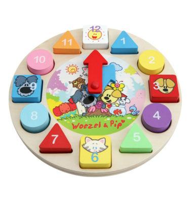 Woezel & Pip Puzzel klok