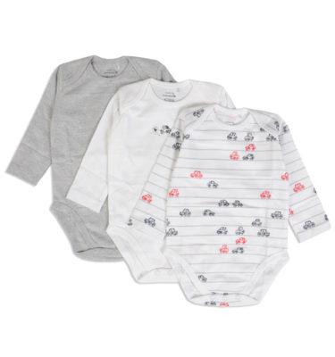Prenatal  jongens 3pack rompers