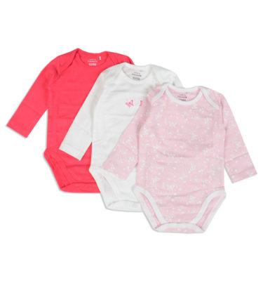 Prenatal  meisjes  3-pack rompers
