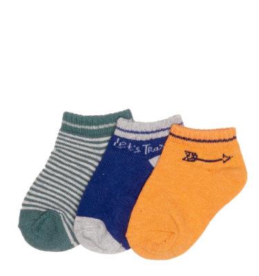 Prenatal jongens 3-pack sokken