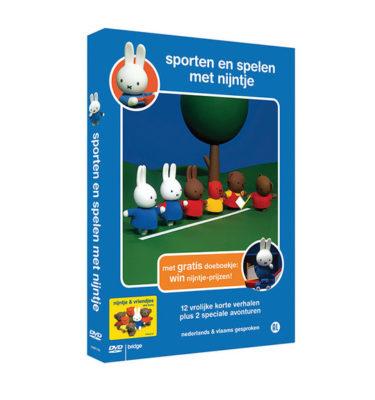 DVD sporten en spelen met nijntje