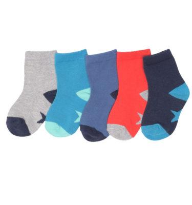 Prenatal jongens 5-pack sokken