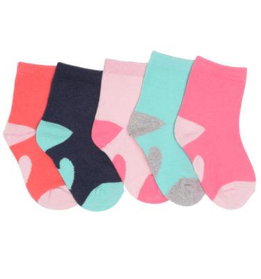 Prenatal meisjes 5-pack sokken