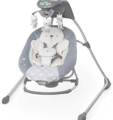 Ingenuity InLighten Twinkle Teddy schommelstoel