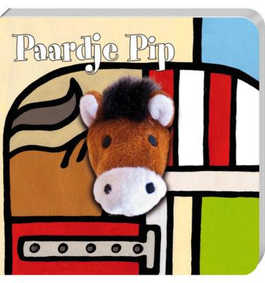 Vingerpopboekje - Paardje Pip