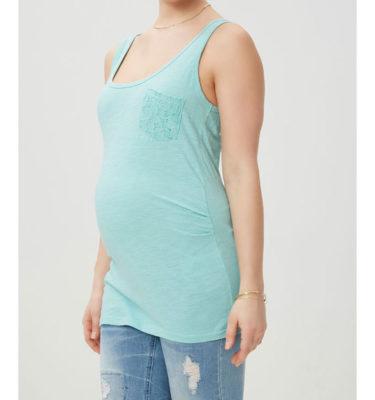Mama-licious mouwloze zwangerschapstop New Sica