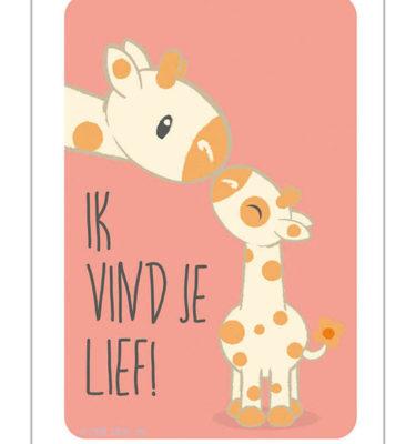 Studio Circus Poster Giraffe