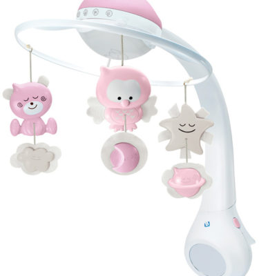 Bkids musical mobile projector pink