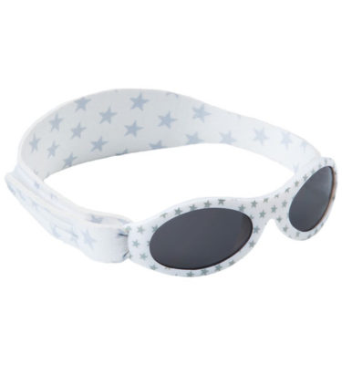 BabyBanz zonnebril- Silver Star